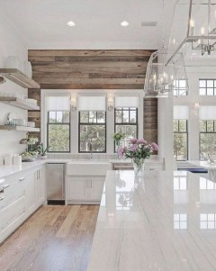 Crative Farmhouse Kitchen Design Ideas For Fun Cooking To Try 21