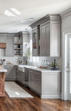 Crative Farmhouse Kitchen Design Ideas For Fun Cooking To Try 34