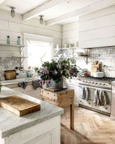 Crative Farmhouse Kitchen Design Ideas For Fun Cooking To Try 39