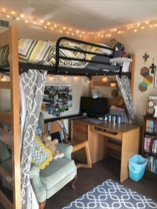 Elegant College Dorm Room Design Ideas That Suitable For You 01