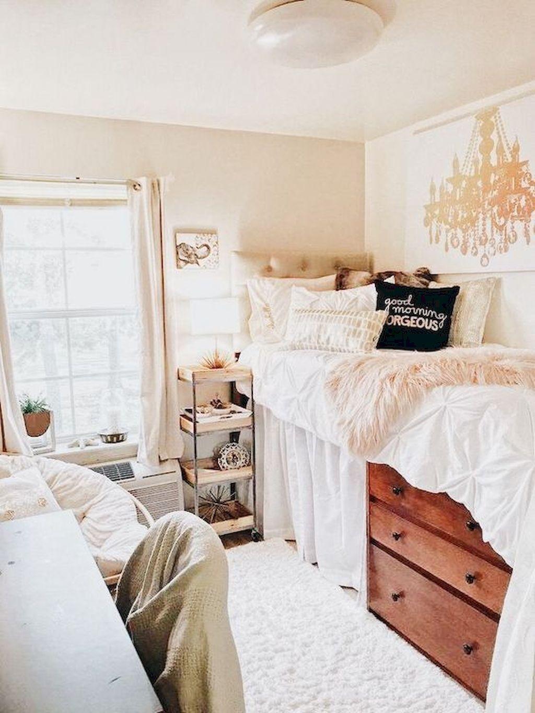 Elegant College Dorm Room Design Ideas That Suitable For You 19