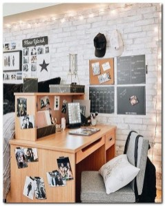 Elegant College Dorm Room Design Ideas That Suitable For You 37