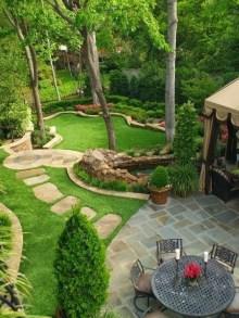 Genius Summer Backyard Landscaping Design Ideas To Inspire Everyone 22