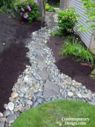 Hottest Diy River Rocks Design Ideas For Summer Garden 44