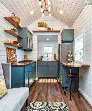 Relaxing Tiny House Makeovers Design Ideas With Farmhouse Style 27