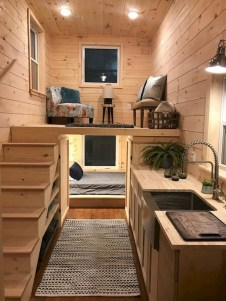 Relaxing Tiny House Makeovers Design Ideas With Farmhouse Style 40