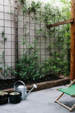 Rustic Small Backyard Design Ideas With Vertical Garden To Try Asap 16
