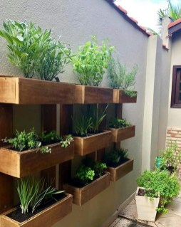 Rustic Small Backyard Design Ideas With Vertical Garden To Try Asap 23