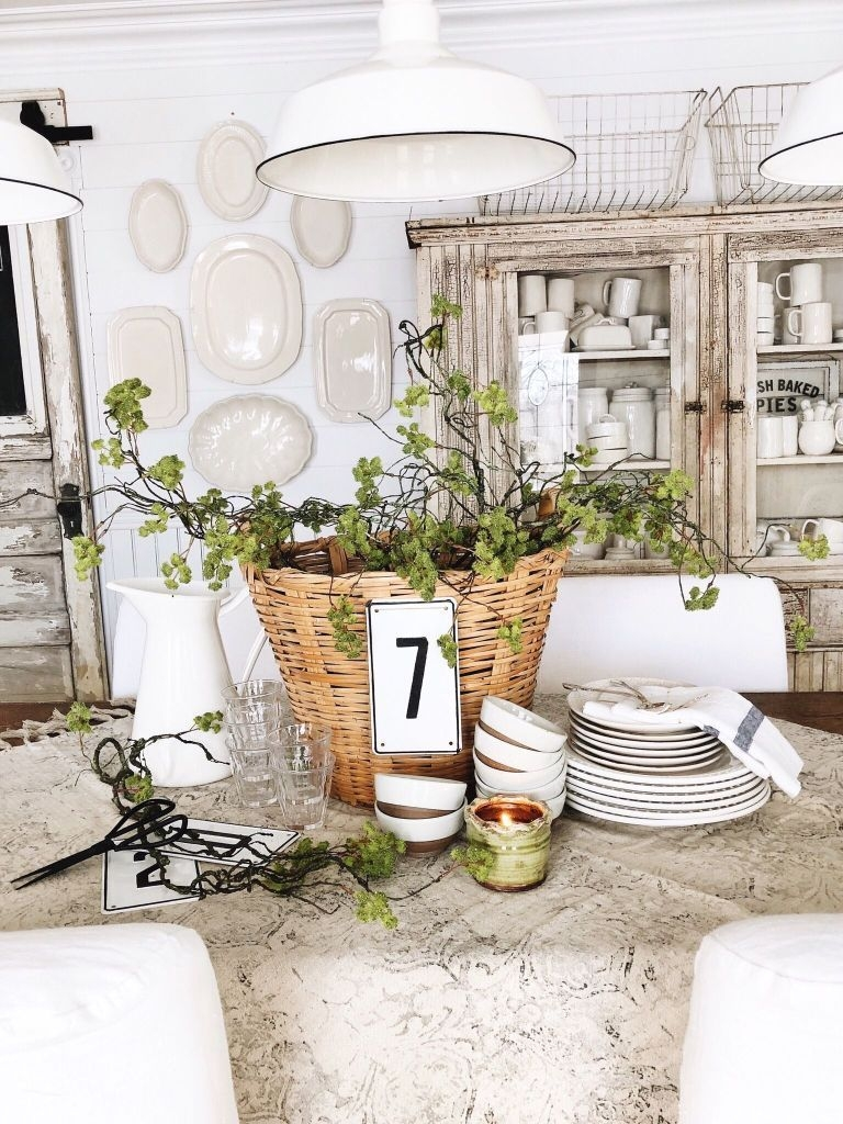 Superb Spring Home Decor Ideas With Farmhouse Style To Try Asap 15