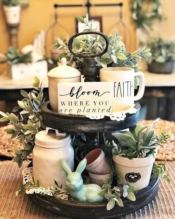 Superb Spring Home Decor Ideas With Farmhouse Style To Try Asap 38
