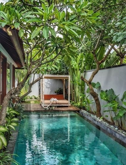Surprising Tropical Pool Landscaping Design Ideas To Try Soon 17