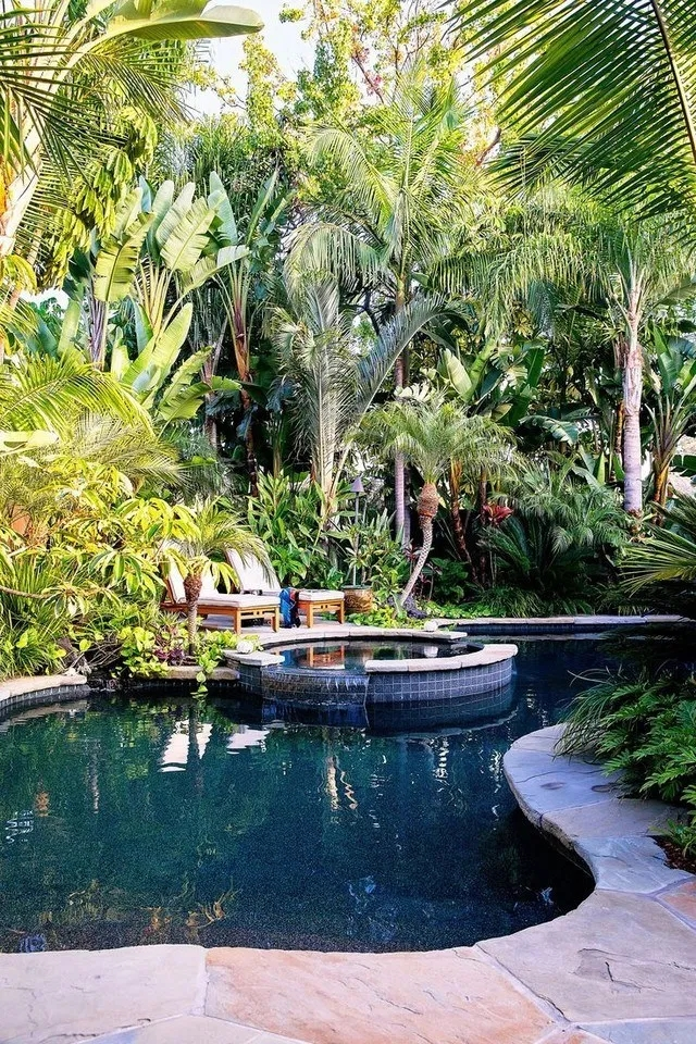 Surprising Tropical Pool Landscaping Design Ideas To Try Soon 50