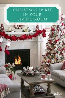 Affordable Colorful Living Christmas Décor Ideas That Suitable For You 13