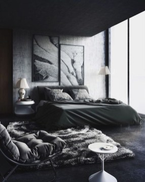 Best Bedroom Design Ideas With Black And White Color Schemes 09