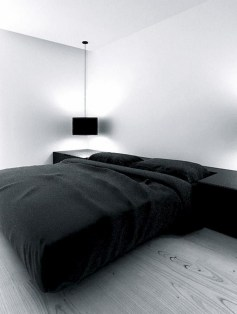 Best Bedroom Design Ideas With Black And White Color Schemes 12
