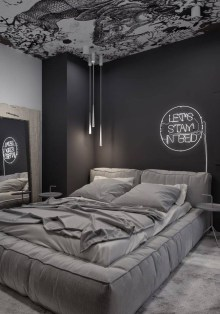 Best Bedroom Design Ideas With Black And White Color Schemes 13