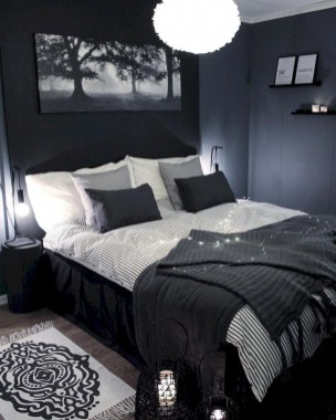 Best Bedroom Design Ideas With Black And White Color Schemes 15