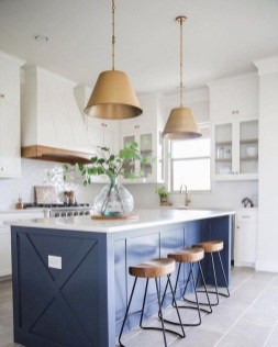 Classy Blue Kitchen Cabinets Design Ideas For Kitchen Looks More Incredible 01