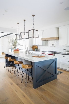 Classy Blue Kitchen Cabinets Design Ideas For Kitchen Looks More Incredible 36