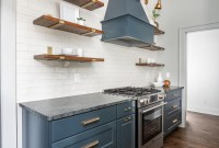 Classy Blue Kitchen Cabinets Design Ideas For Kitchen Looks More Incredible 47