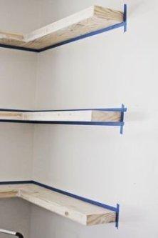 Comfy Corner Floating Shelves Design Ideas To Beautify Your Room Corner 03
