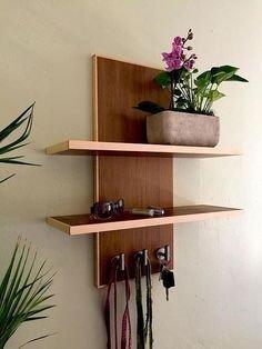 Comfy Corner Floating Shelves Design Ideas To Beautify Your Room Corner 25
