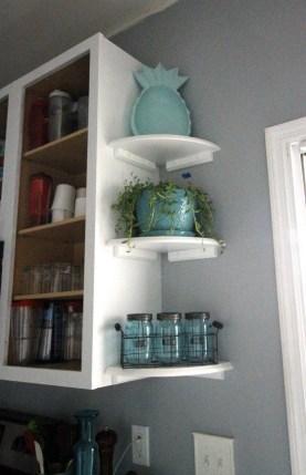 Comfy Corner Floating Shelves Design Ideas To Beautify Your Room Corner 42