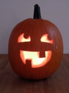 Cozy Pumpkin Carving Design Ideas You Can Do Yourself 11