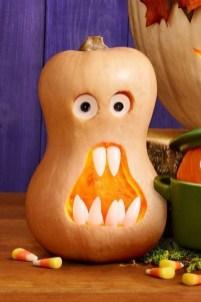 Cozy Pumpkin Carving Design Ideas You Can Do Yourself 12