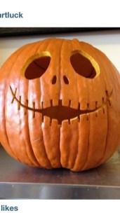 Cozy Pumpkin Carving Design Ideas You Can Do Yourself 47