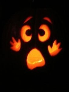 Cozy Pumpkin Carving Design Ideas You Can Do Yourself 50