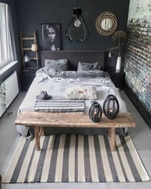 Creative Industrial Bedroom Design Ideas For Unique Bedroom 07