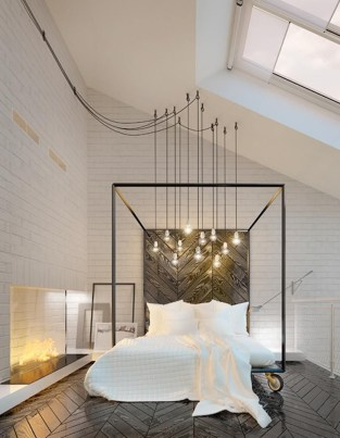 Creative Industrial Bedroom Design Ideas For Unique Bedroom 17