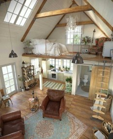Cute Tiny House Design Ideas On Wheels That You Must Have Now 04