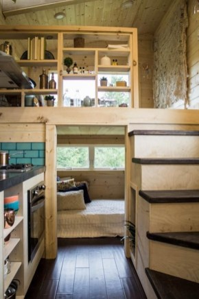 Cute Tiny House Design Ideas On Wheels That You Must Have Now 07