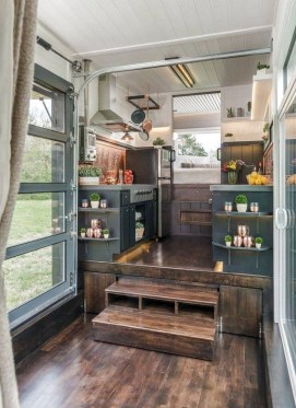 Cute Tiny House Design Ideas On Wheels That You Must Have Now 26