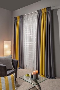 Favorite Living Room Curtain Design Ideas To Enhance Your Living Room 05