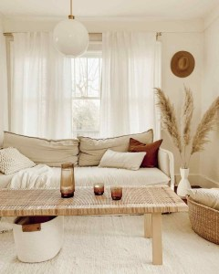 Favorite Living Room Curtain Design Ideas To Enhance Your Living Room 21