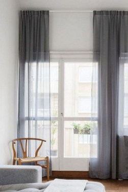 Favorite Living Room Curtain Design Ideas To Enhance Your Living Room 33
