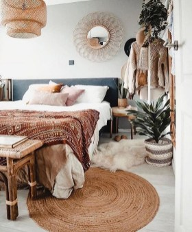Glamorous Bohemian Bedroom Design Ideas Must You Try Now 27