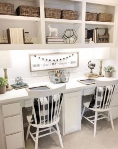 Gorgeous Traditional Small Home Office Design Ideas For You To Have 04