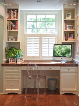 Gorgeous Traditional Small Home Office Design Ideas For You To Have 08