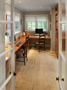 Gorgeous Traditional Small Home Office Design Ideas For You To Have 09
