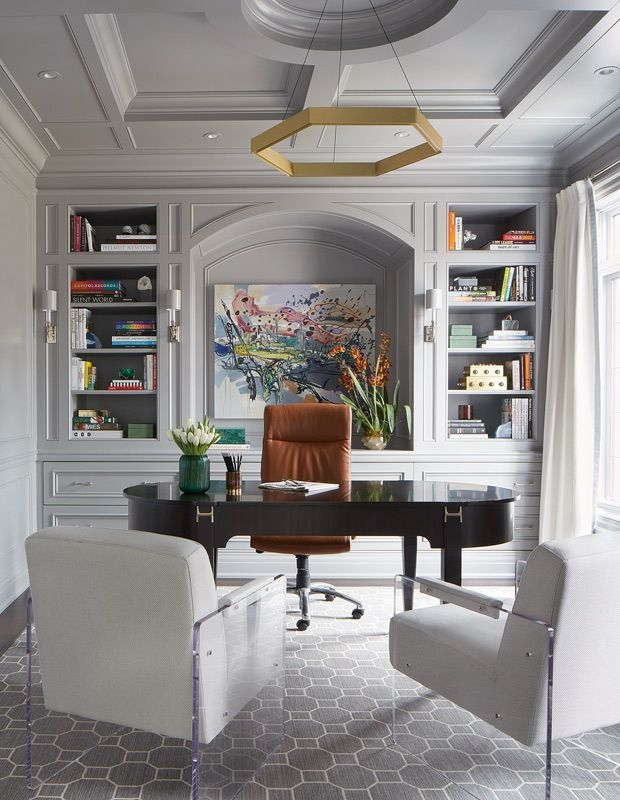 Gorgeous Traditional Small Home Office Design Ideas For You To Have 31