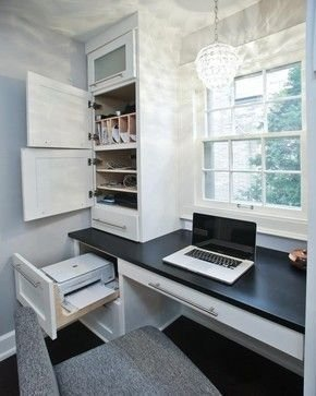 Gorgeous Traditional Small Home Office Design Ideas For You To Have 38