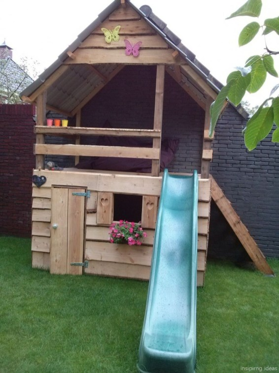 Lovely Diy Playground Design Ideas To Make Your Kids Happy 38