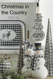 Wonderful Black Christmas Decorations Ideas That Amaze You 14
