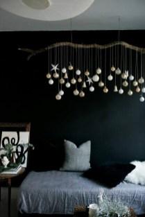 Wonderful Black Christmas Decorations Ideas That Amaze You 48