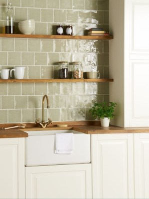 Affordable Kitchen Wall Tile Design Ideas To Try Right Now 06