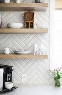 Affordable Kitchen Wall Tile Design Ideas To Try Right Now 23